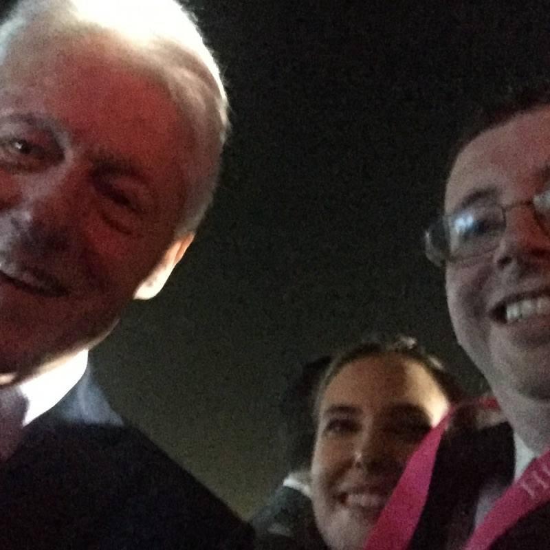 That time you meet Bill Clinton.