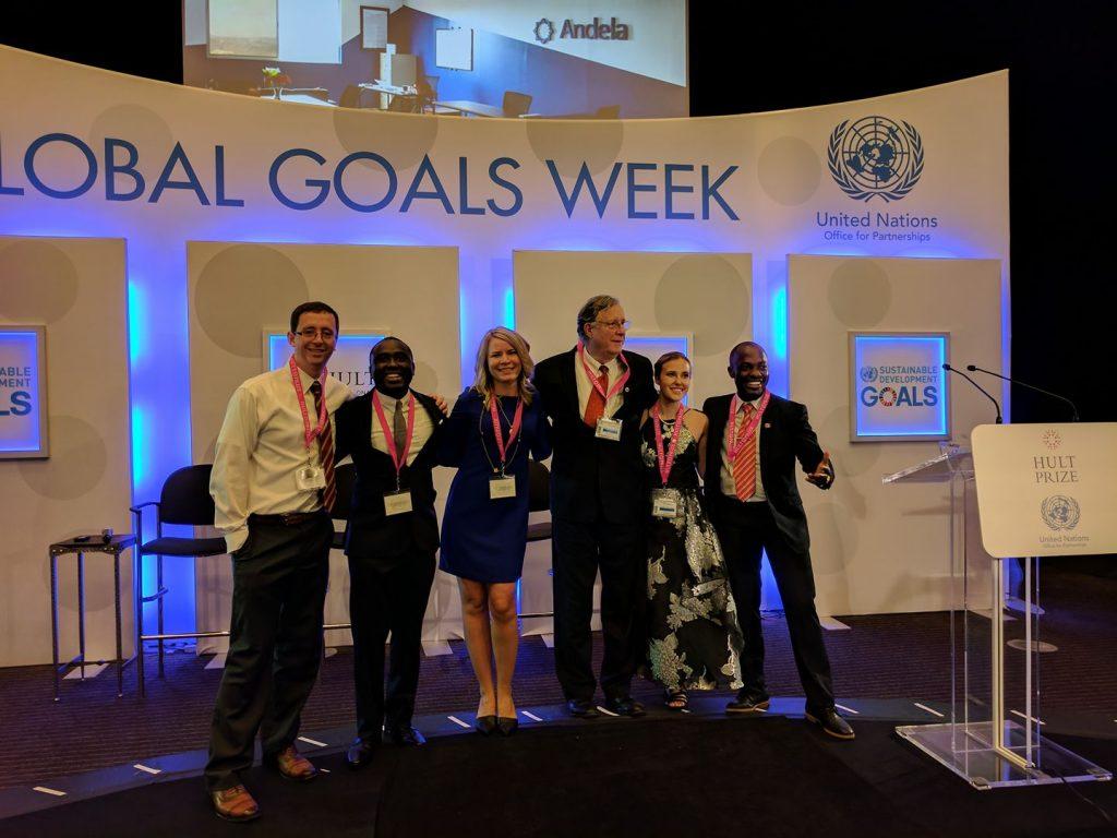 Kwado at the United Nations