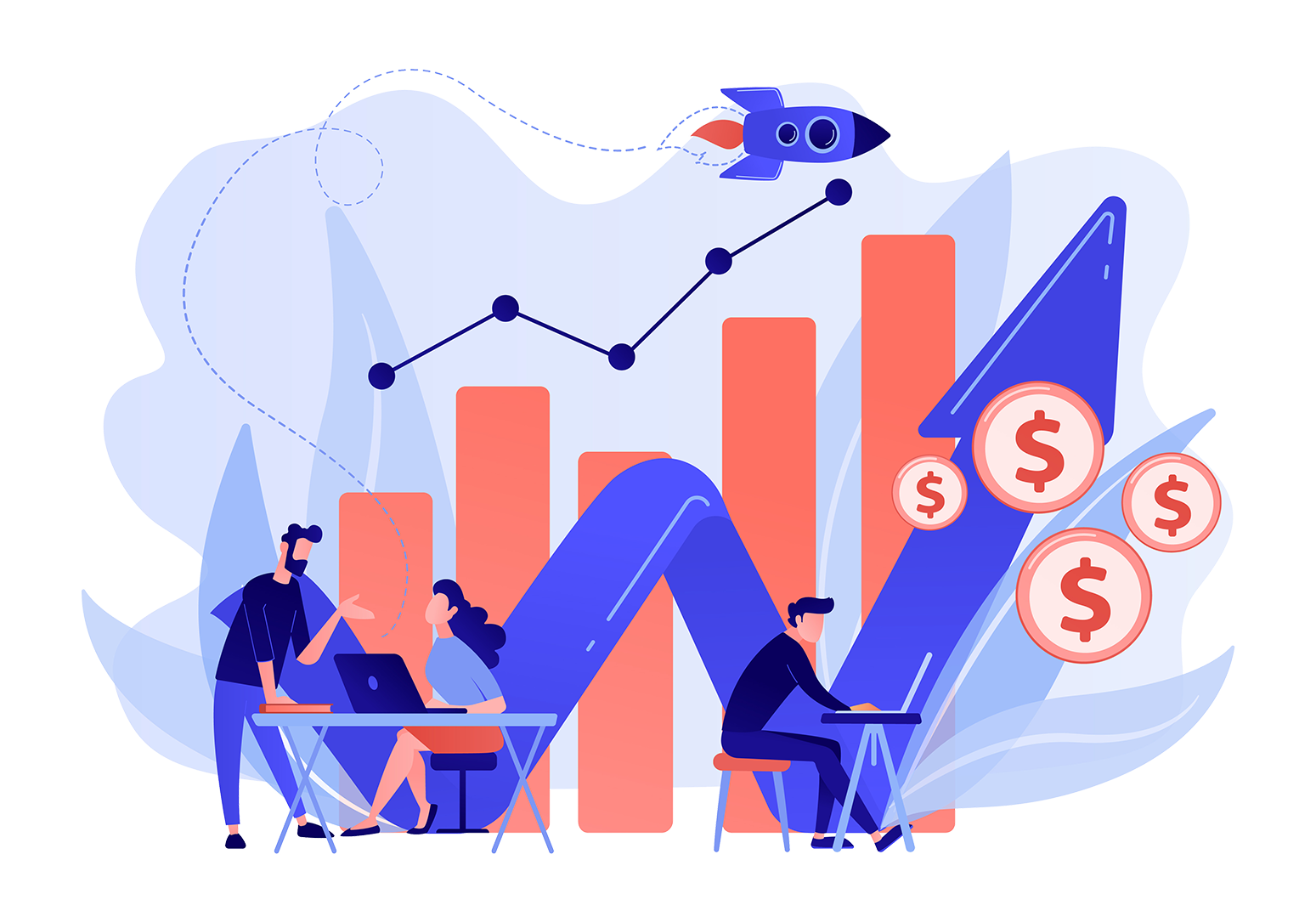 Profit illustration